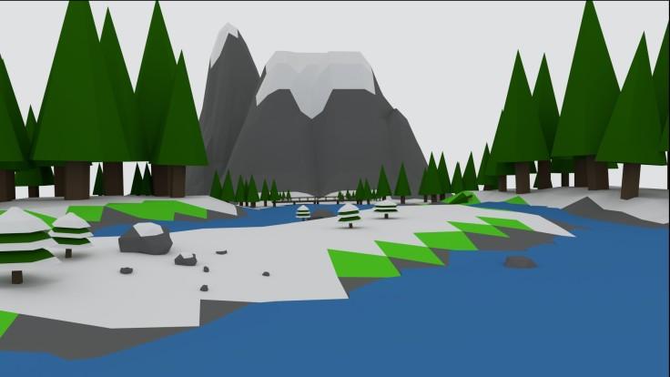 Snowy Lake1
