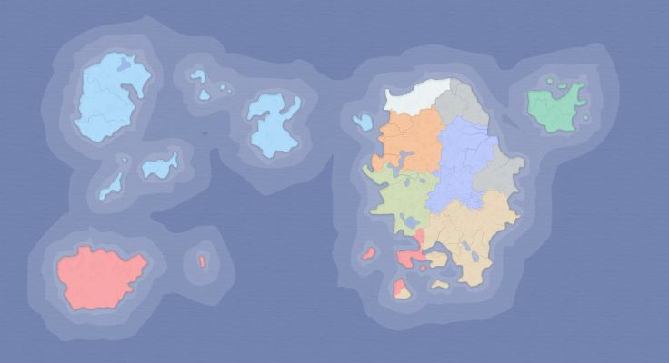 world map one
