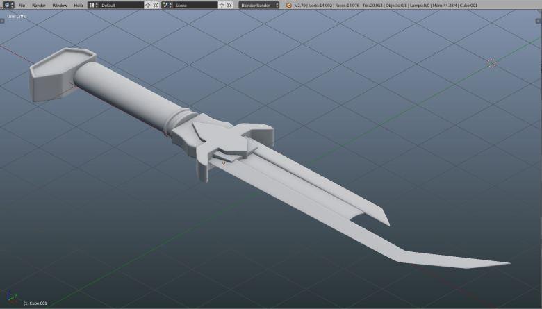 Keg blade 2