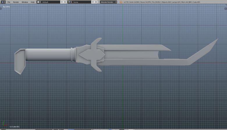 Keg blade 3